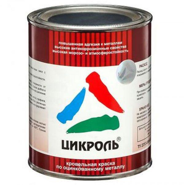 Акрилова фарба для оцинкованого металу