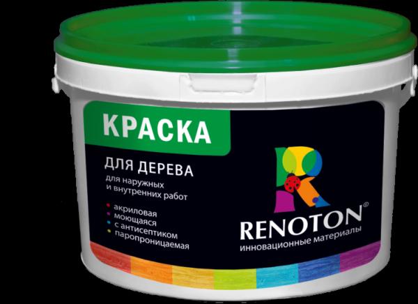 Акрилова фарба фірми Ренотон