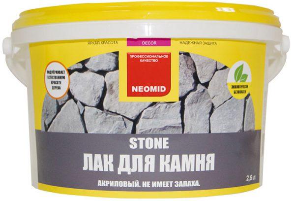 Акриловий лак для каменю