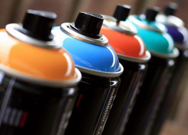 Переваги аерозольних фарб