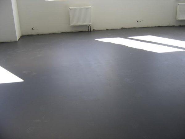 Рівна бетонна підлога