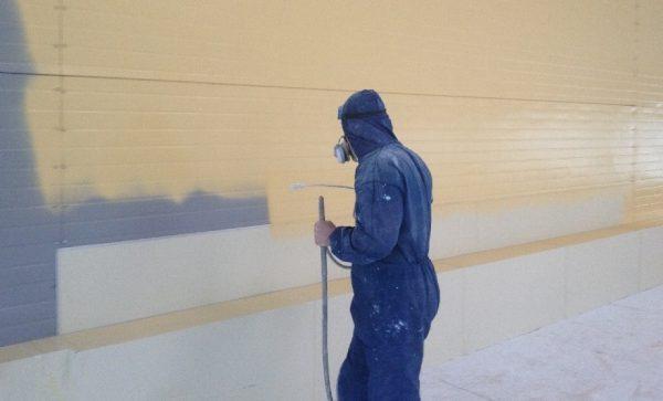 Безповітряний метод фарбування
