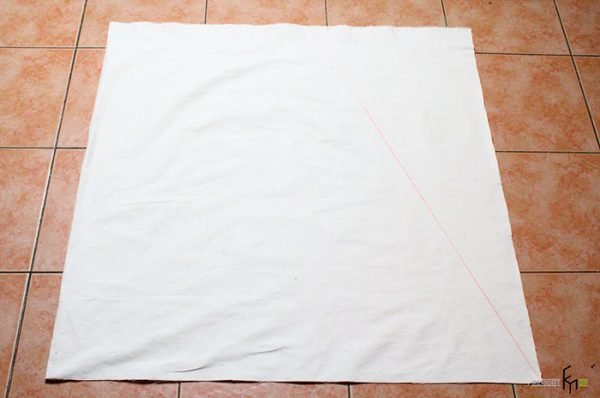 Чистий шматок м'якої тканини