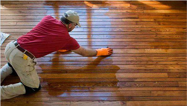 Просочений дерев'яна підлога