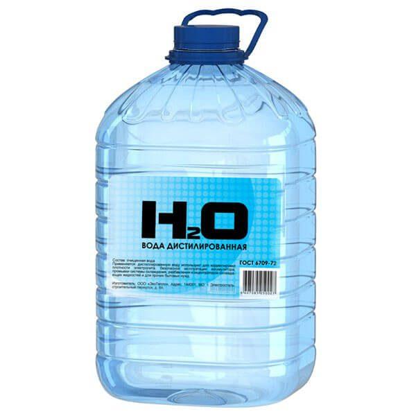 Дистильована вода для промивання