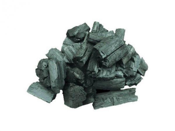 Деревне вугілля вбирає в себе запах