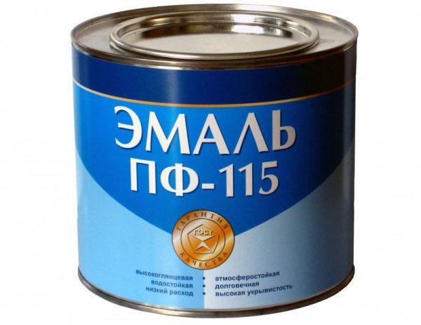 Емаль ПФ-115 алкідна