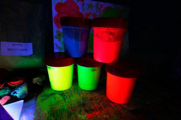 Флуоресцентна фарба