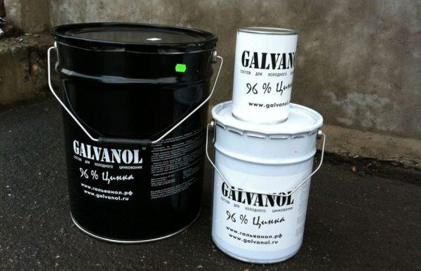 Гальванол для цинкування металу
