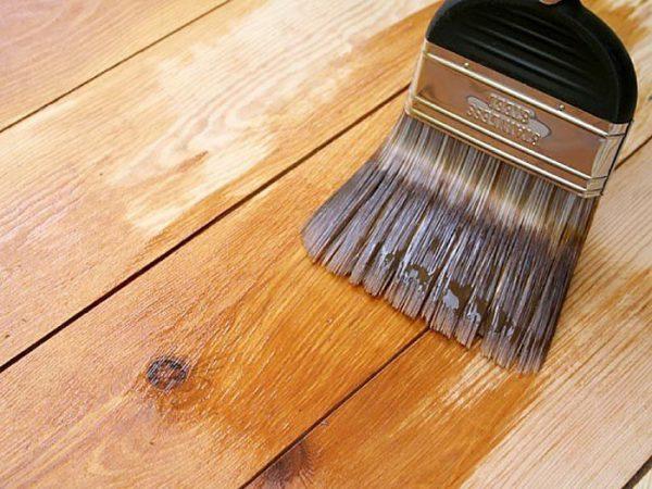 Ґрунтовка дерева перед фарбуванням