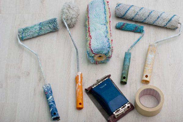 Потрібні інструменти для фарбування
