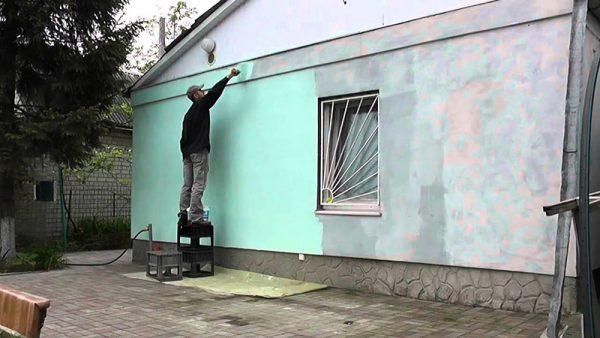 Як пофарбувати фасад