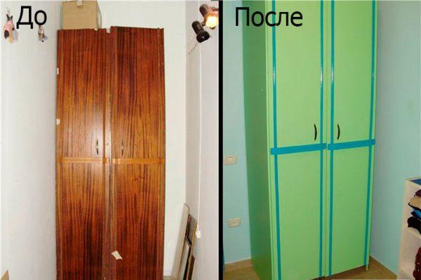 Як пофарбувати шафа