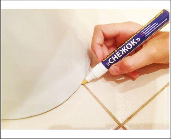 Олівець для очищення швів плитки