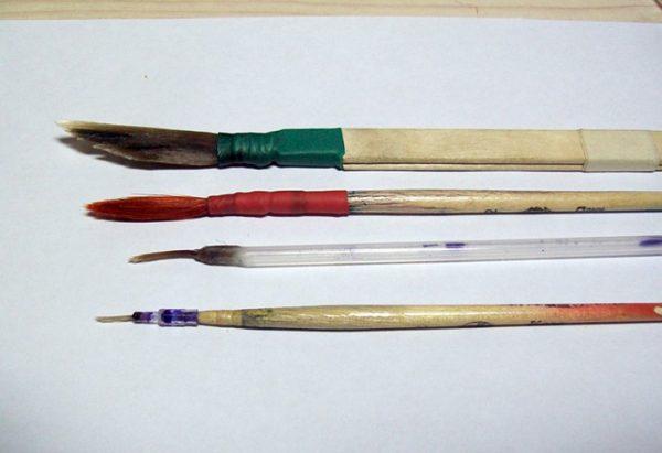 Виготовлення пензлика