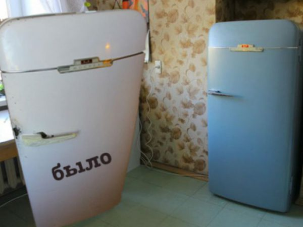 Фарбуємо холодильник