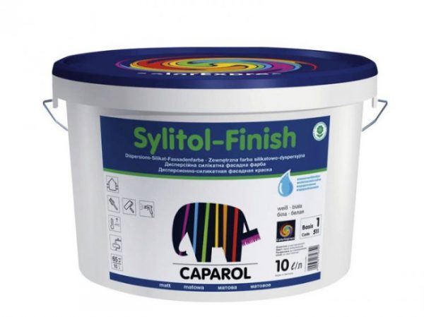 Силікатно-силіконова фарба для стін