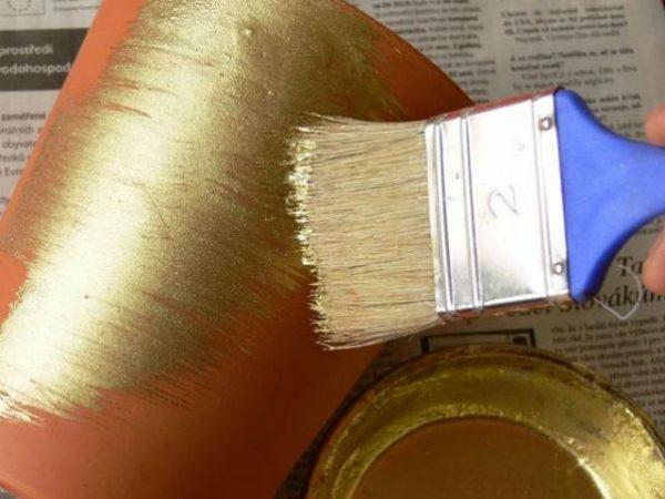 Фарбуємо пензликом предмет