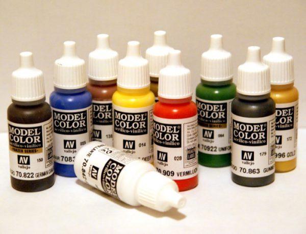 Вибір фарби для аерографа