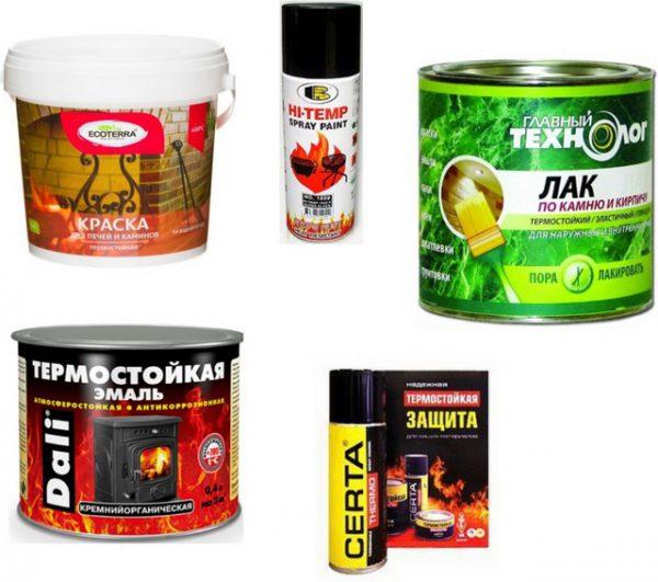 Вибір фарби для банної печі