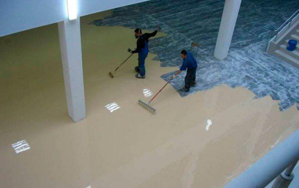 Фарба для бетонних підлог