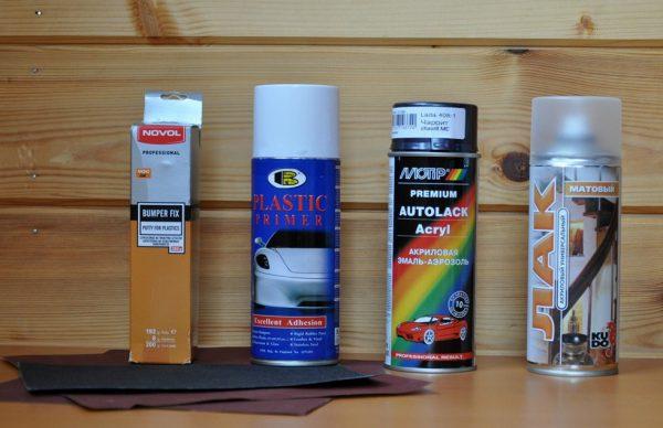 Вибір фарби для пластику