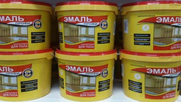 Зносостійка професійна фарба для дерев'яної підлоги