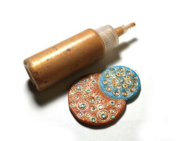 Фарба і виріб з полімерної глини