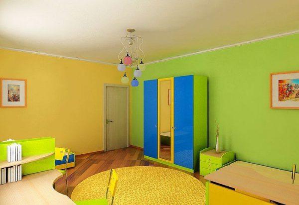 Фарбування кімнати