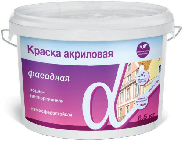Фарба фасадна водно-дисперсійна
