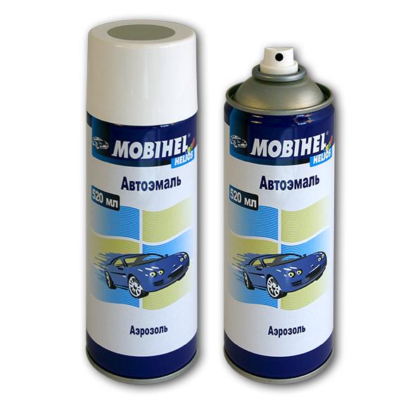 Автомобільна аерозольна фарба Mobihel металік