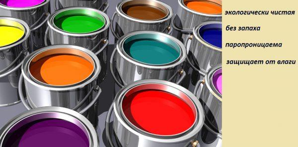 Переваги акрилової фарби