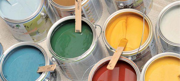 Фарби різних кольорів для дерева