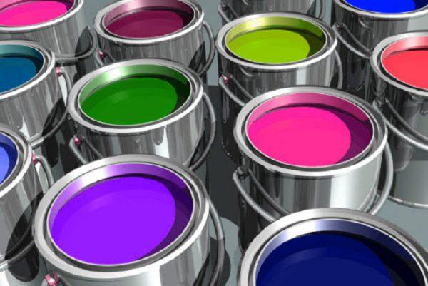 Різноманітні види фарби для каменю і металу