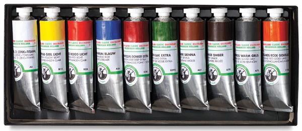 Фарби олійні в тюбиках