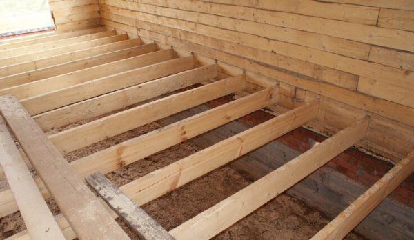 Лаги - одна з складових підлоги