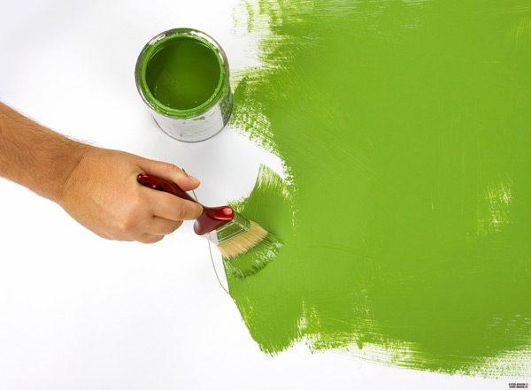 Латексна фарба для стін і стель