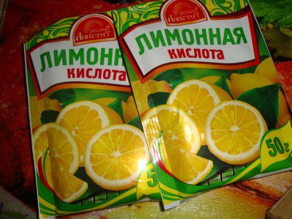 Лимонна кислота для видалення плям