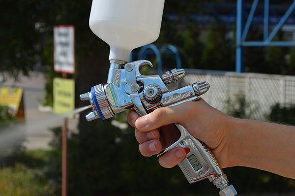 Пістолет пневматичної фарбопульта