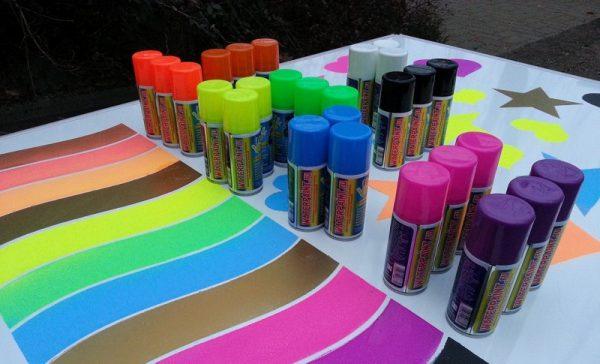 Крейдяна фарба в балончиках
