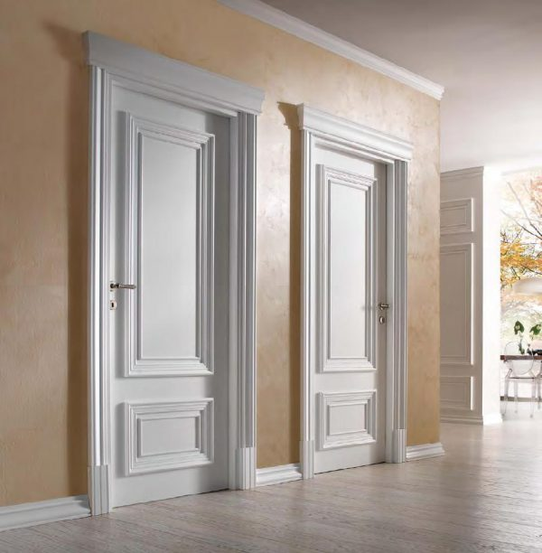 Білі міжкімнатні двері