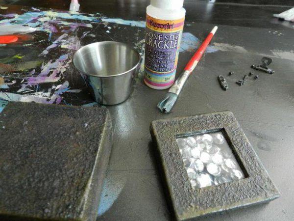 Молоткова фарба по металу для зовнішніх робіт