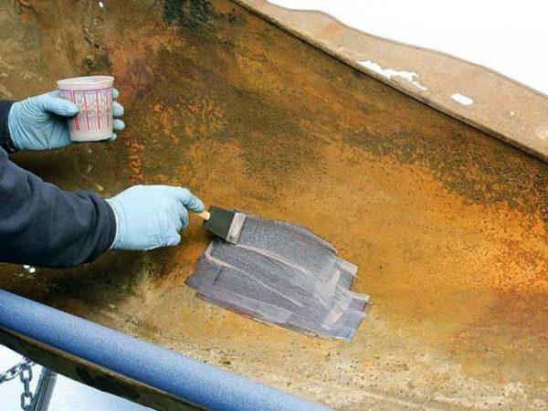 Нанесення антикорозійного емалі на метал