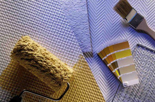 Сучасні шпалери під фарбування