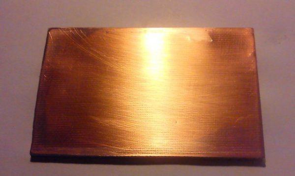 Створення оксидної плівки на нержавіючої сталі
