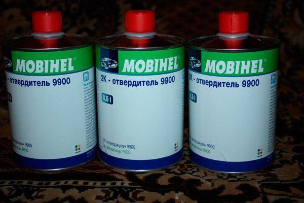 Затверджувач для фарби Mobihel