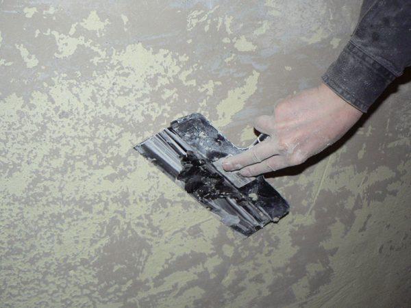 Шпаклювання стіни під плитку