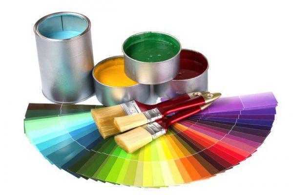 Палітра відтінків акрилової фарби
