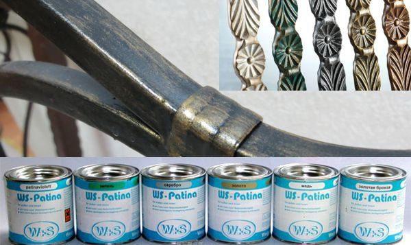 Ковальська фарба - Патина WS-Plast