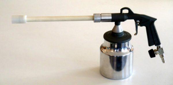 Трібостатичний пістолет для порошкового фарбування